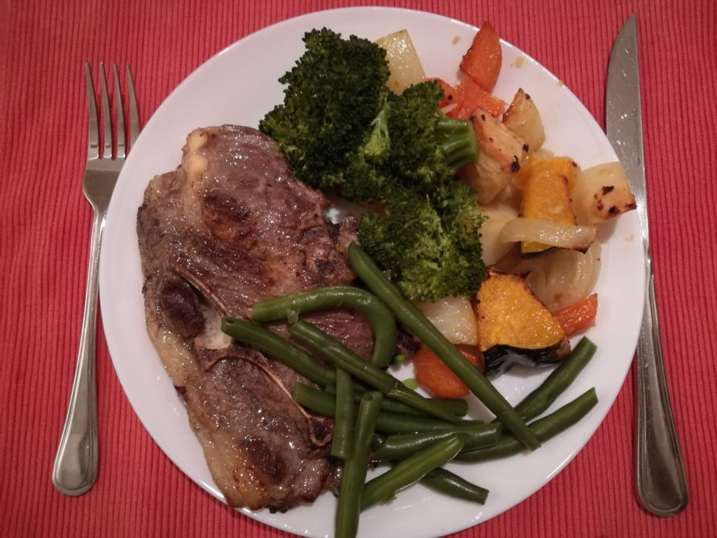Whole30 Day 4, Dinner