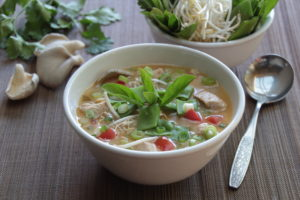 Tom Kha Gai (Thai Chicken Soup With Coconut Milk)
