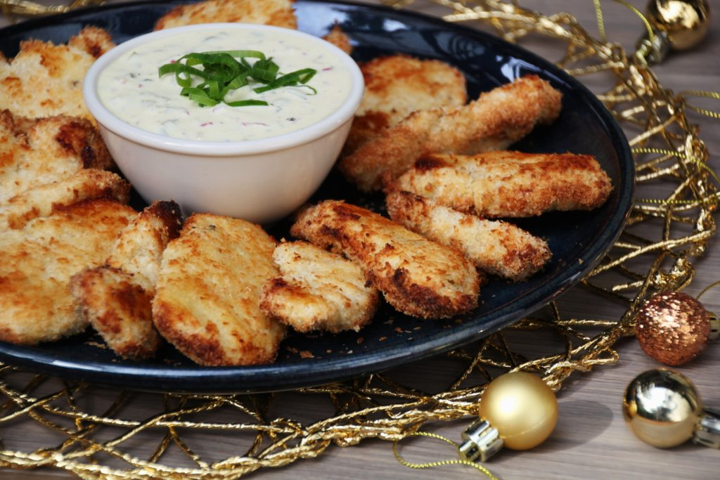 Oven-Baked Coconut Chicken Strips (Paleo, Whole30, Low Carb)