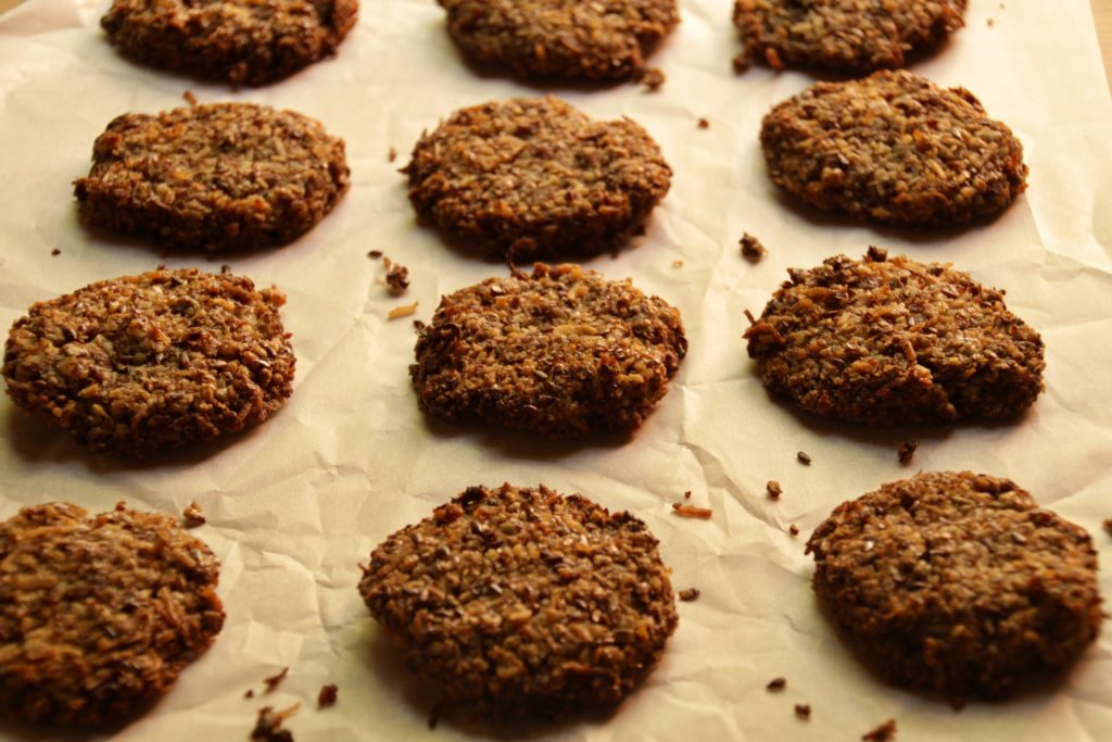Anzac Biscuits (Paleo, Low Carb, Vegan)