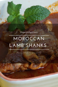 Moroccan Lamb Shanks (Paleo, Whole30, Low Carb)