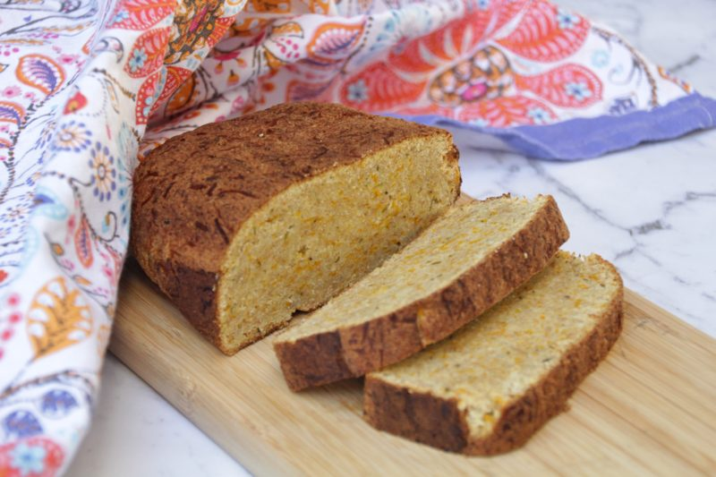 Banana Bread (Paleo, Sugar-Free, Vegan)