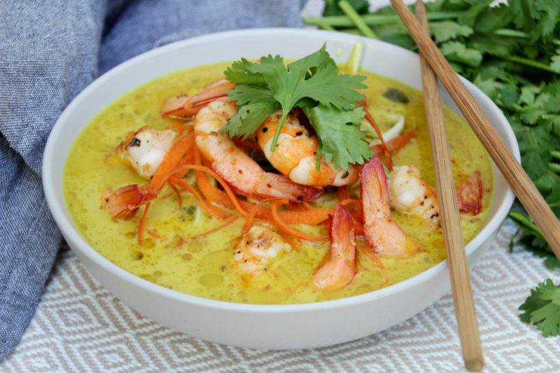 Laksa (Paleo, Whole30, Low Carb)