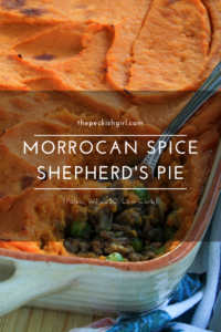 Moroccan Spice Shepherd's Pie (Paleo, Whole30, Low Carb)